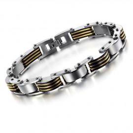 Bracelet Chaine Jaune